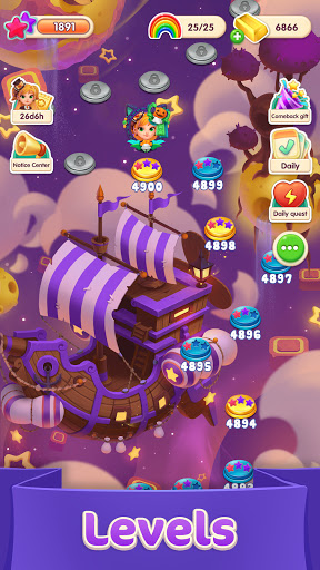 Jellipop Match-Decorate your dream island! screenshot 3