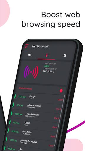 Net Optimizer   Optimize Your Internet Speed screenshot 2