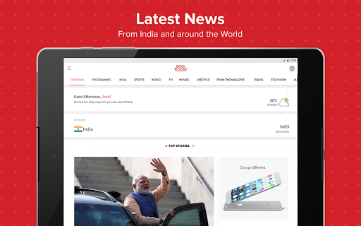 Latest English News & Free Live TV by India Today 6 تصوير الشاشة