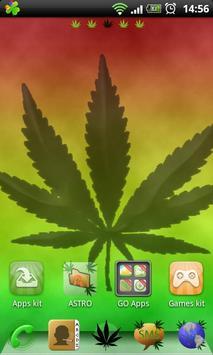 Rasta Theme for GO Launcher screenshot 1