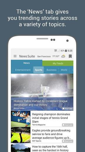 News Suite by Sony 2 تصوير الشاشة