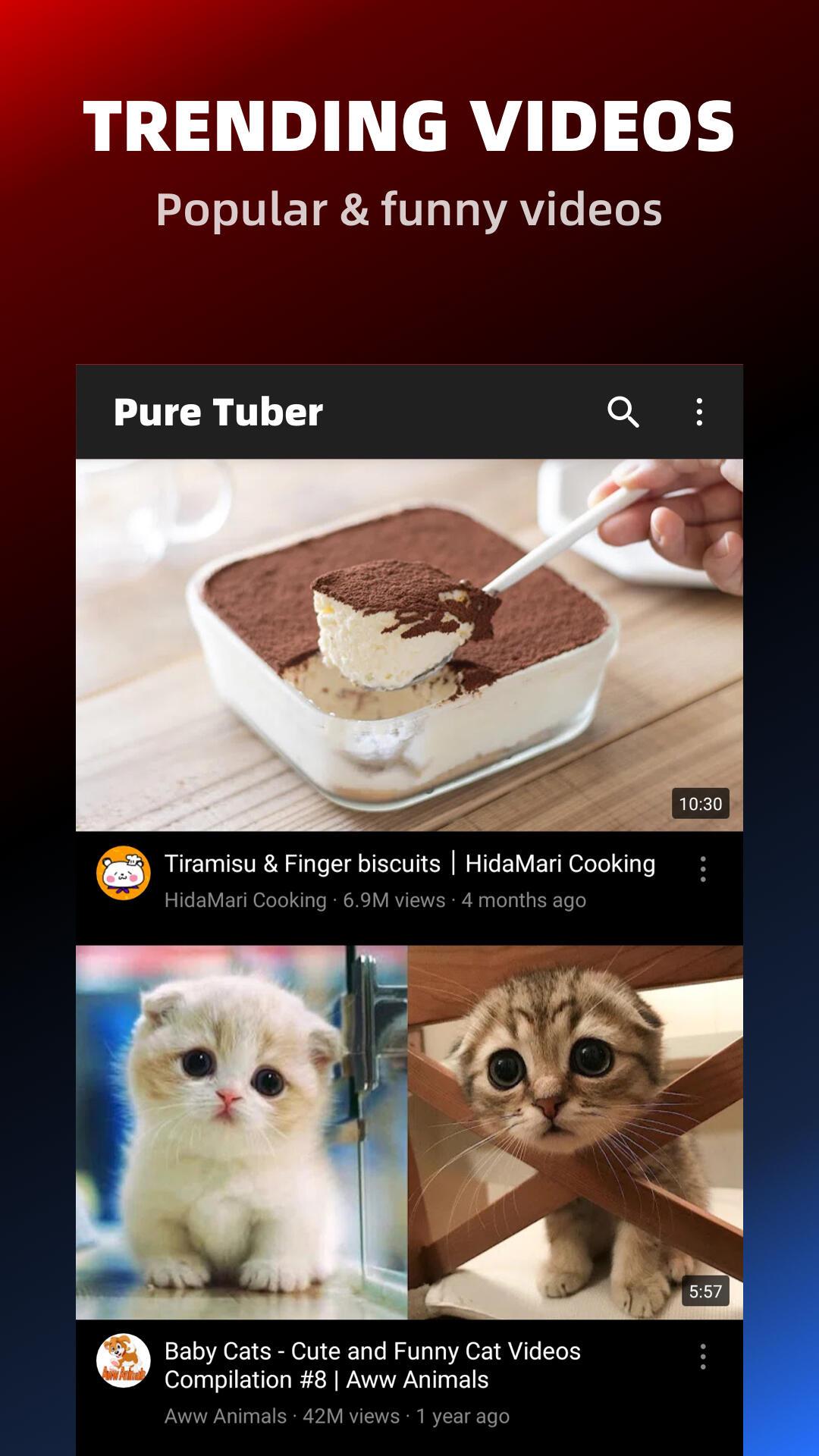 Pure Tuber - No ADs and Free Tube Premium screenshot 6