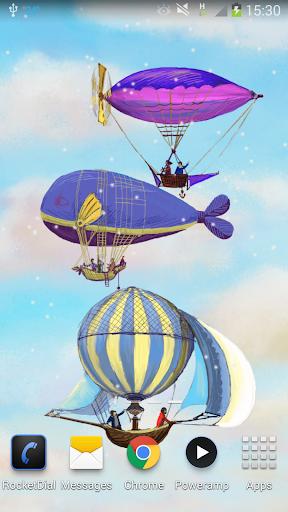 Flying World Live Wallpaper 4 تصوير الشاشة