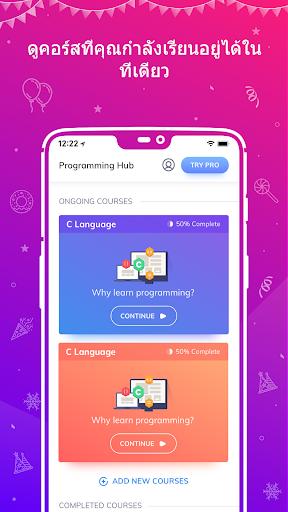 Programming Hub: เรียนเขียนโค้ด screenshot 2