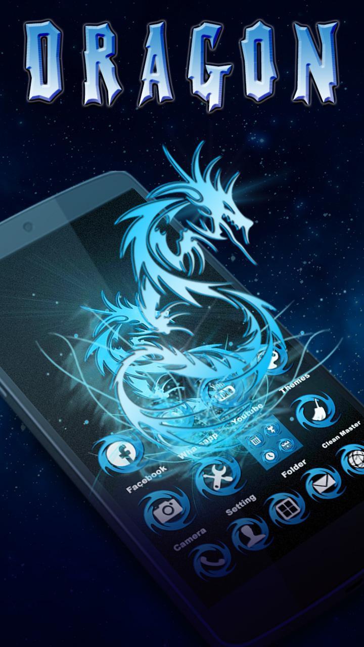 Free Dragon Theme 1 تصوير الشاشة