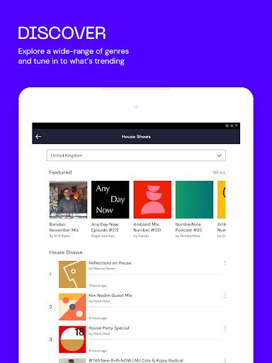Mixcloud - Gabungan Radio & DJ screenshot 9