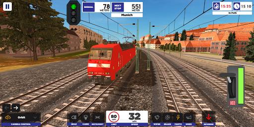 Euro Train Simulator 2 screenshot 1