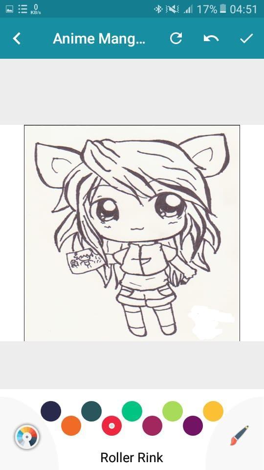 Anime Manga Coloring Pages Book screenshot 3