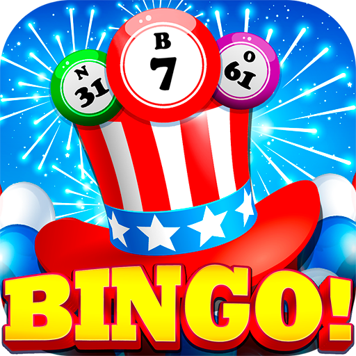 4th of July - American Bingo أيقونة