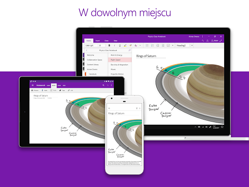 Microsoft OneNote: zapisz pomysły, organizuj notki screenshot 9