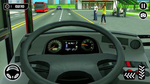 الباص ألعاب ٢١ : مدينة مدرب حافلة القيادة محاكاة 3 تصوير الشاشة