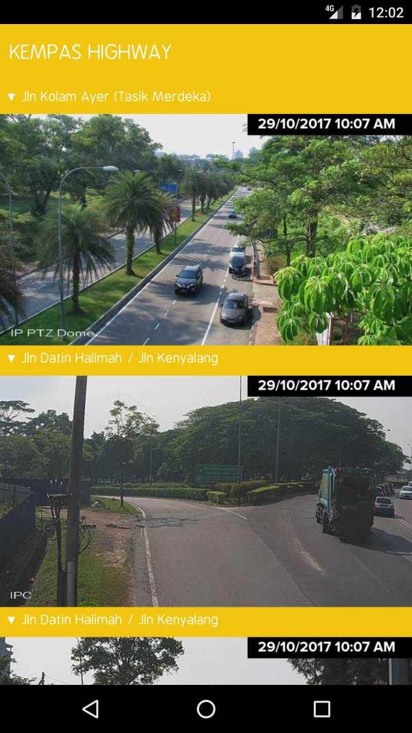 MBJB.LIVE - Live Traffic Cameras in Johor Bahru. screenshot 3