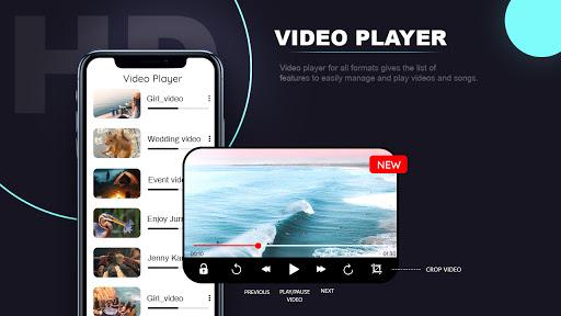 SAX Video Player - All Format HD Video Player 2020 screenshot 1