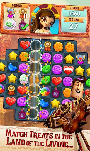 Sugar Smash: Book of Life - Free Match 3 Games. screenshot 1