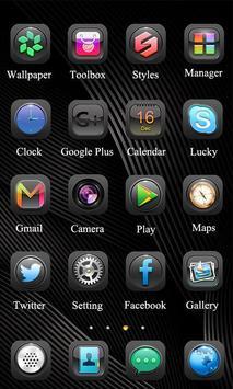 Think Theme - ZERO Launcher 2 تصوير الشاشة
