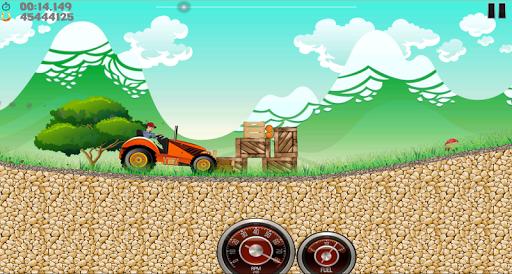 Farm Tractor Racing скриншот 4