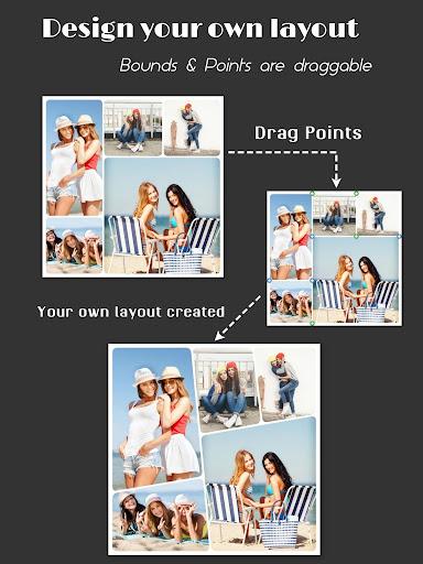 Collage Maker (Layout Grid) - PhotoFancie screenshot 10