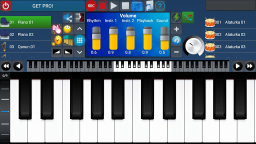 Portable ORG Keyboard 4 تصوير الشاشة