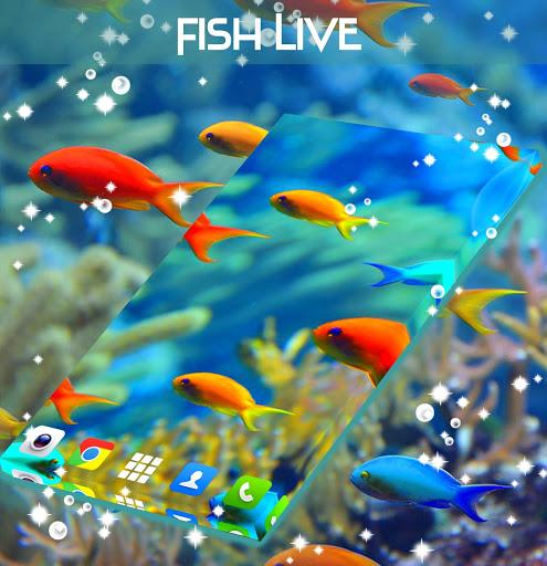 Fish Live Wallpaper Free screenshot 2