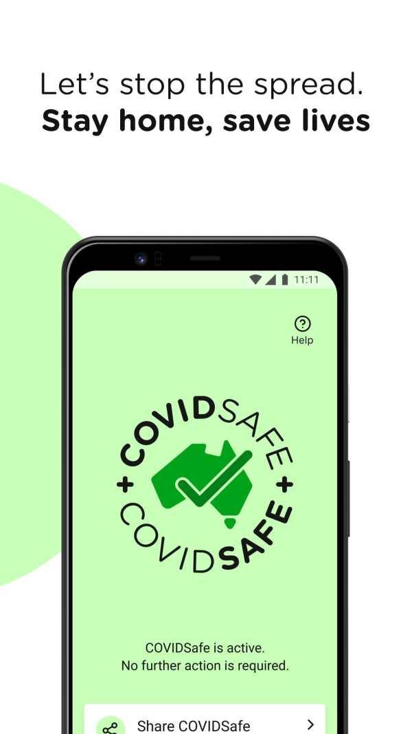 COVIDSafe screenshot 5