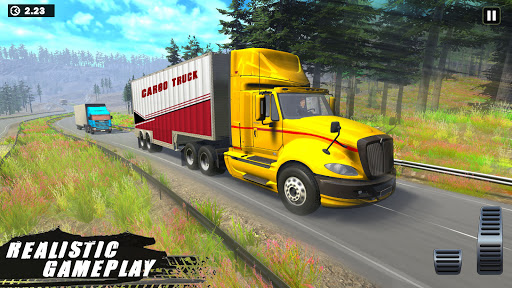 Offroad Indian Truck Driver:3D Truck Driving Games screenshot 4