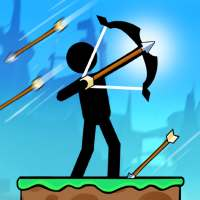 The Archers 2: Stickman Games for 2 Players or 1 on 9Apps