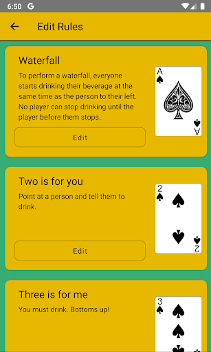 Kings Cup Drinking Game screenshot 4