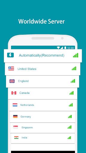 Thunder VPN - Fast, Free VPN by Signal-Lab स्क्रीनशॉट 2