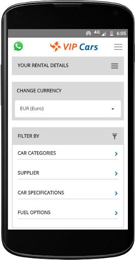 VIPCars.com – Car Rental screenshot 4