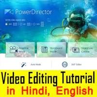 Power Director Video Editing Tutorials in Hindi on APKTom