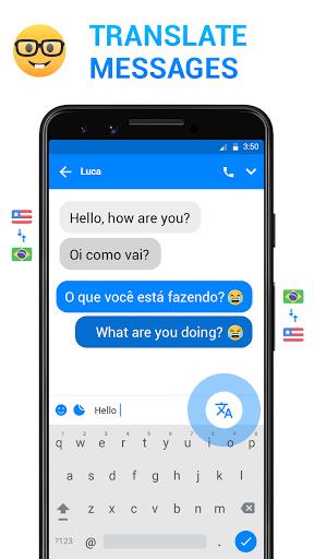 Messenger - Messages, Texting, Free Messenger SMS 9 تصوير الشاشة