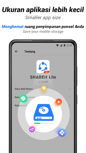 SHAREit Lite - Share & File Transfer App, Share it screenshot 8