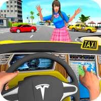 Taxi Driving Simulator City Car New Games 2021 on APKTom