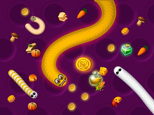Zona Cacing.io - Ulang Rakus screenshot 11