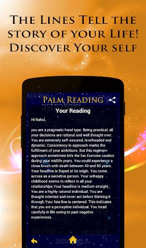 Palm Reading 11 تصوير الشاشة