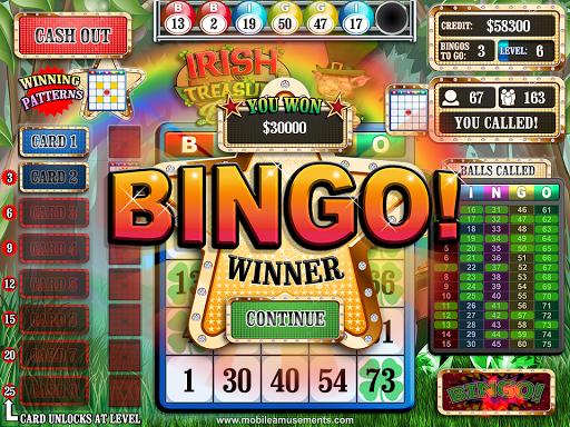 Irish Treasure Rainbow Bingo FREE screenshot 13