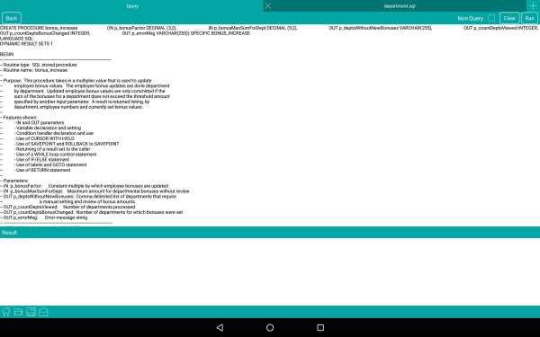 DB2Prog - DB2 Client screenshot 9