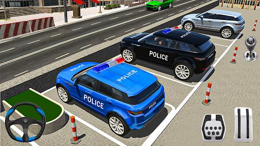 New Game Police Car Parking Games - Car Games 2020 screenshot 2