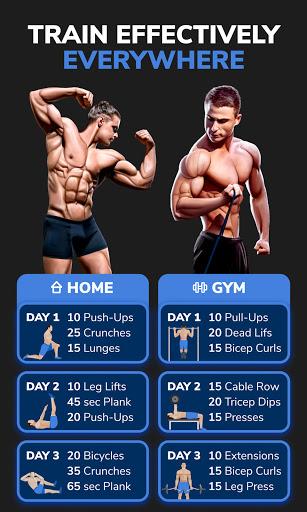 BetterMen: Home Workouts & Diet screenshot 3