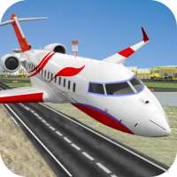 City Flight Airplane Pilot New Game - Plane Games on 9Apps