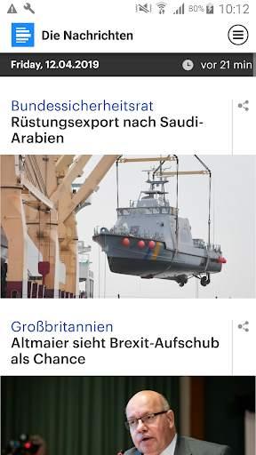 Dlf - Die Nachrichten screenshot 1