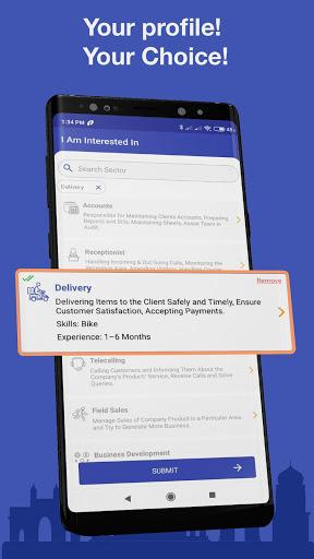 WorkIndia Job Search App - Free HR contact direct 4 تصوير الشاشة