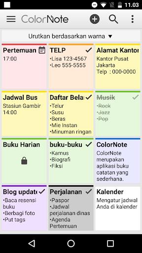 ColorNote Catatan Notepad Note screenshot 8