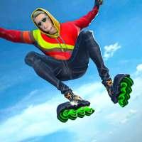 Sky Roller Skate Stunt Game on APKTom