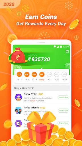 VClip - Ur Video Status, Indian Whatsapp Status screenshot 3