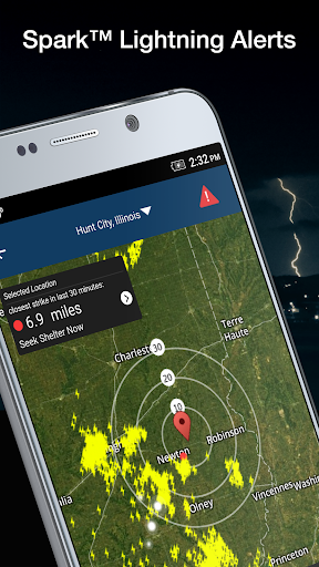 Weather by WeatherBug: Live Radar Map & Forecast screenshot 1