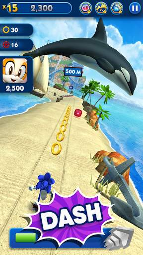 Sonic Dash - Endless Running & Racing Game screenshot 3