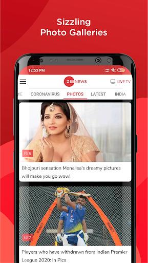 Zee News - Hindi News, Latest India News Live screenshot 6