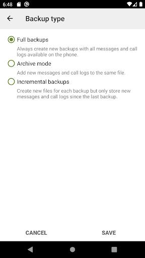 SMS Backup & Restore screenshot 8