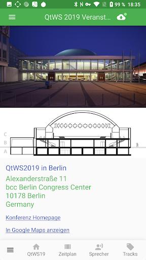 Qt World Summit 2019 Conference App screenshot 7